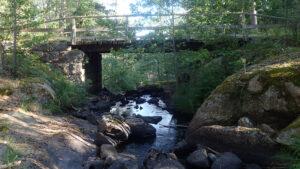 Bron över Stensjöbäcken